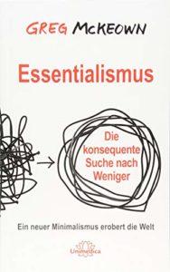 Buchcover: Essentialismus von Greg McKeown