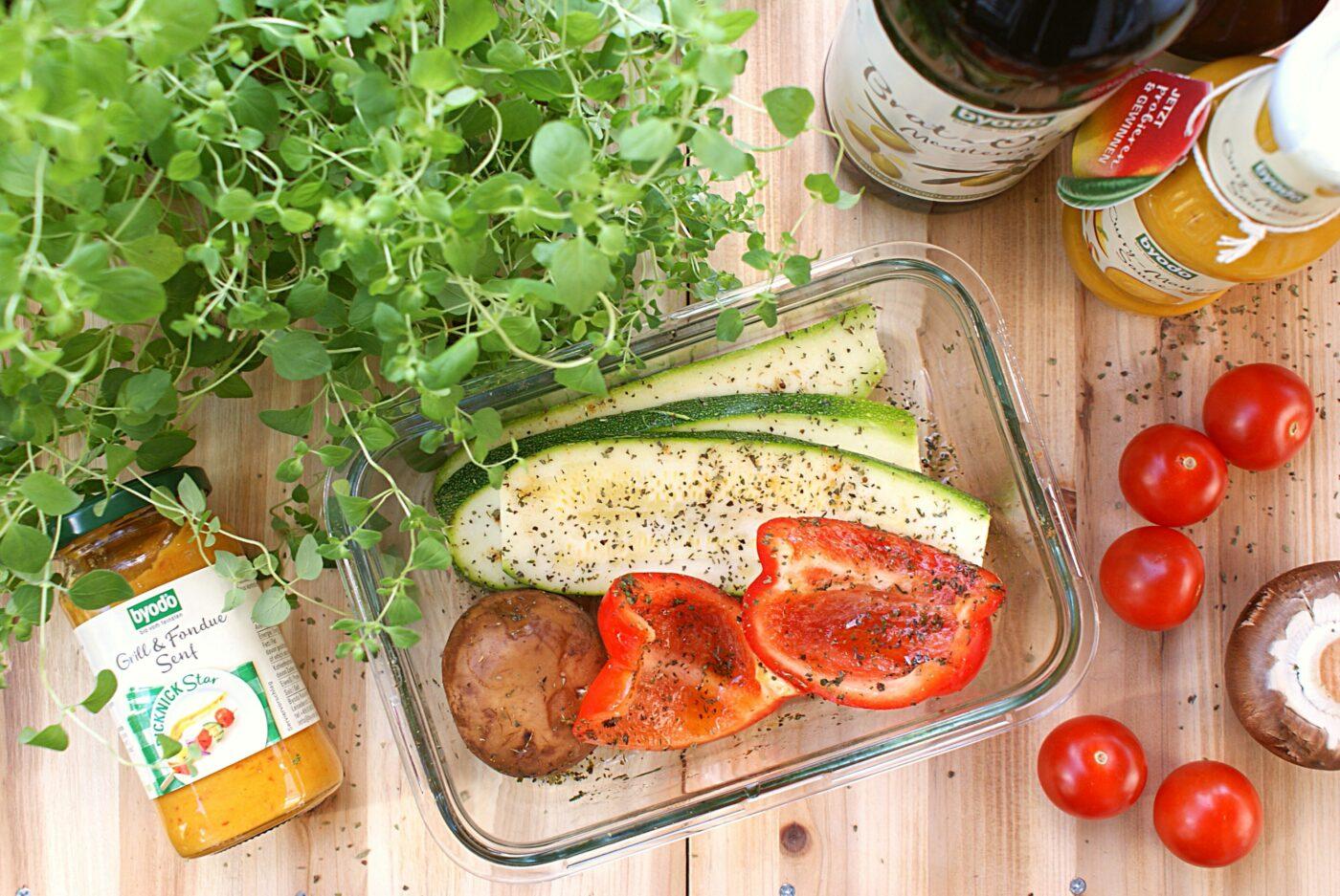 Vegetarisch Grillen Grillgemüse